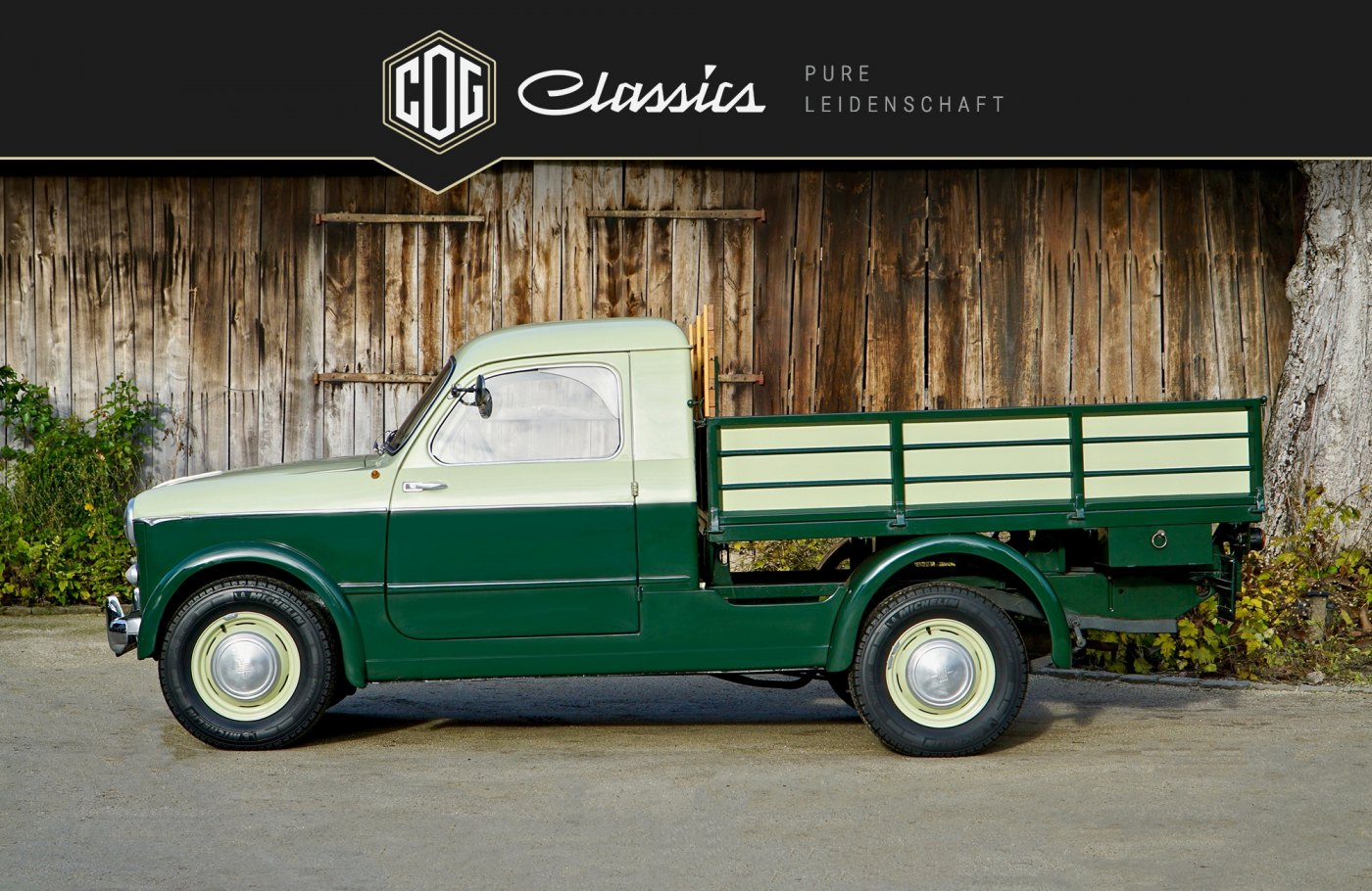 Fiat 1100 Industriale Built For Only Two Years Verkauft