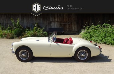 MG MGA 1500 Roadster 1